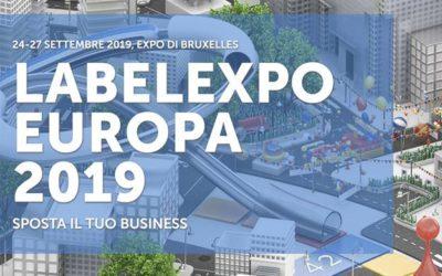 Labelexpo Europa 2019 – Bruxelles, 24-27 settembre 2019