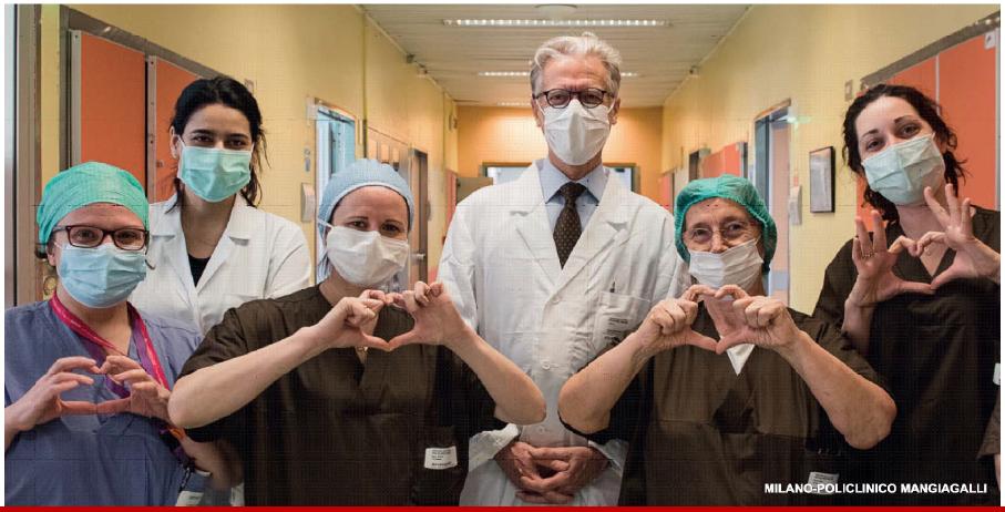Policlinico Mangiagalli Milano GIPEA COVID progetto maternità