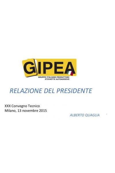 Convegno Tecnico GIPEA 2015