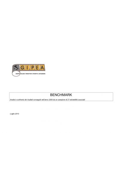 Benchmark Gipea 2009